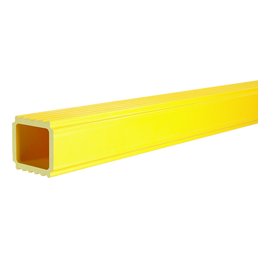 Immagine GROOVED SQUARE TUBE PULTRUDED PROFILE